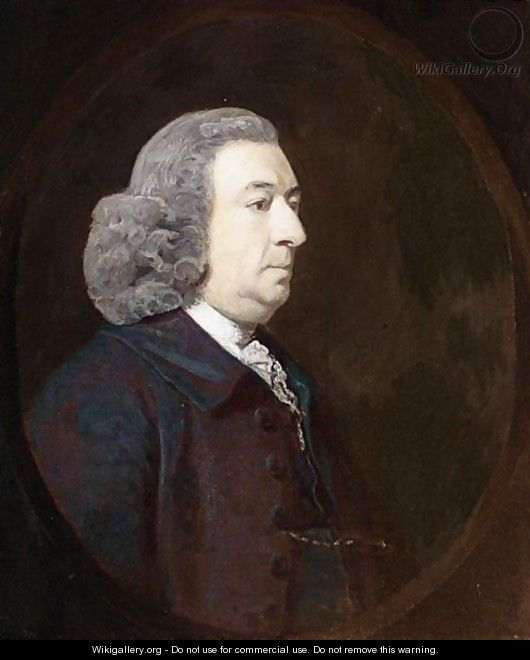 Portrait Of Mr Craunch - Sir Joshua Reynolds