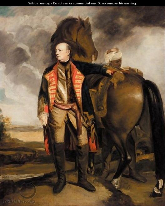 Portrait Of John Manners, Marquess Of Granby (1721-1770) - Sir Joshua Reynolds