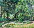Parklandschaft In Der Pfalz (Park Landscape In The Palatinate) - Max Slevogt