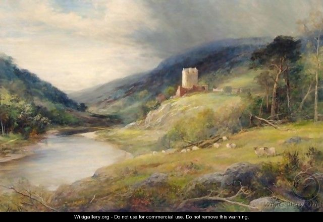 The Bend Of The River - John MacWhirter