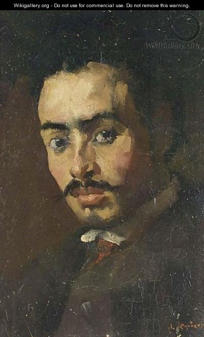 A Portrait Of A Man - Floris Arntzenius