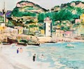 The Pool, Cassis - George Leslie Hunter