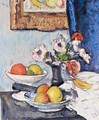 Still Life Of Anemones And Citrus Fruit - George Leslie Hunter