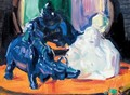 Still Life With A White Buddha And A Porcelain Buffalo - Francis Campbell Boileau Cadell