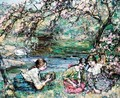 The Bird's Nest - Edward Atkinson Hornel