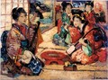 The Samisen Players - Edward Atkinson Hornel
