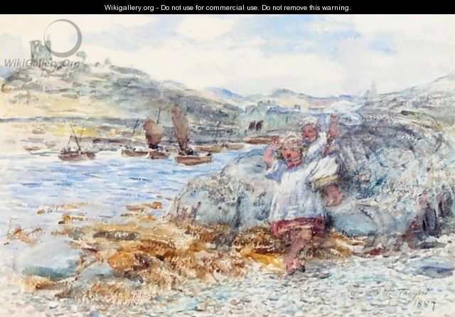 Tarbert, Well May The Boatie Row - William McTaggart