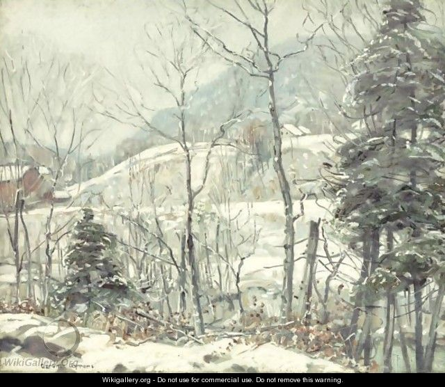 New England Winter - George Gardner Symons