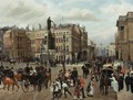 Italian, 19th Century Waterloo Place - Filippo Baratti