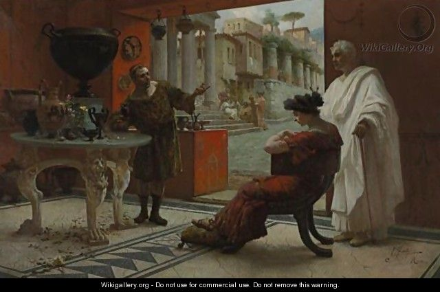 Italian, 19th Century The Vendor Of Antiquities - Ettore Forti