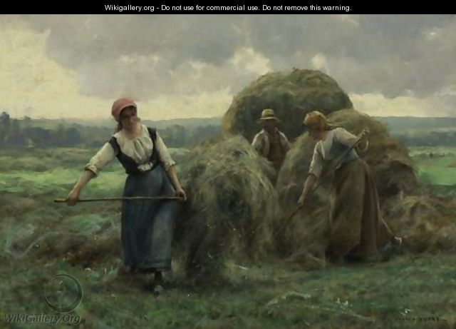 Peasants Stacking Hay - Julien Dupre