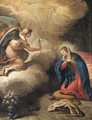 The Annunciation - Paolo di Matteis