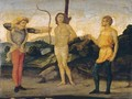 The Martyrdom Of Saint Sebastian - Italian Unknown Master