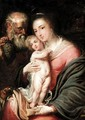 The Holy Family - Flemish School