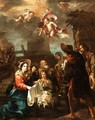 The Adoration Of The Shepherds - (after) Jean Tassel