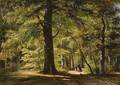 Walking The Dog In The Woods Of Haarlemmerhout - Everhardus Koster
