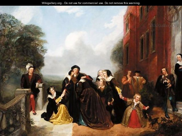 The Separation Of Sir Thomas More And His Family - Thomas Woolnoth