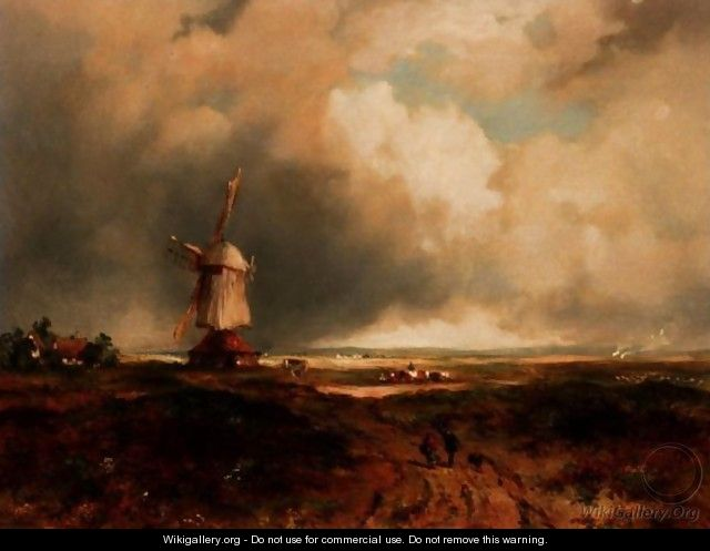 A Windmill On A Common - Frederick Waters Watts