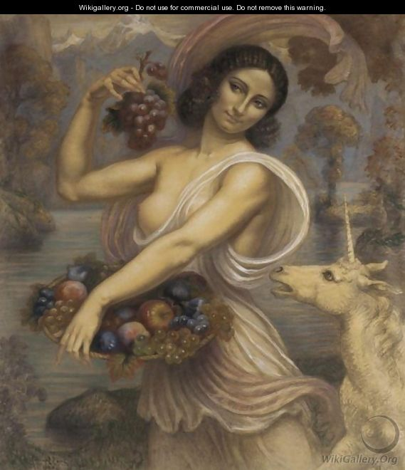 Exotic Beauty With Unicorn - Armand Point