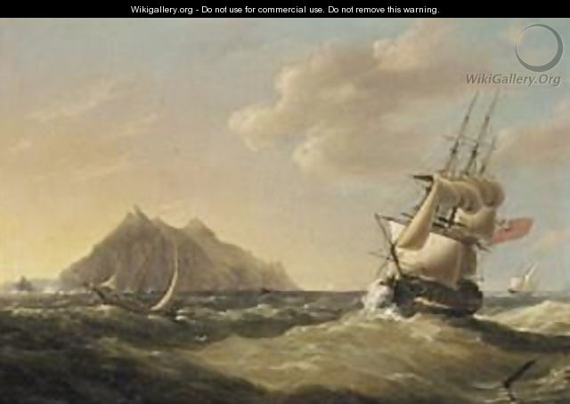 Ships Off Palermo - George Webster