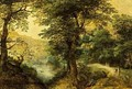 Diana And Callisto In A Wooded Landscape - Gillis van Coninxloo