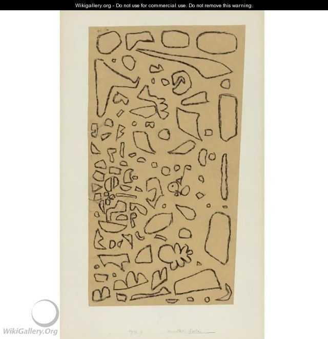 Verwilderter Garten (Neglected Garden) - Paul Klee
