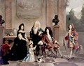 Louis XIV And His Heirs - (after) Nicolas De Largillierre