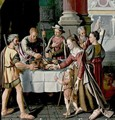 The First Passover Feast - Huybrecht Beuckelaer