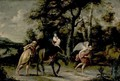 Flight Into Egypt - (after) Willem Van, The Elder Herp