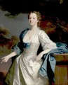 Portrait Of Mrs. Mary Wilbraham - Allan Ramsay