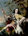 Portrait Of A Hunter - Jean-Marc Nattier