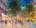 Paris By Night 5 - Konstantin Alexeievitch Korovin