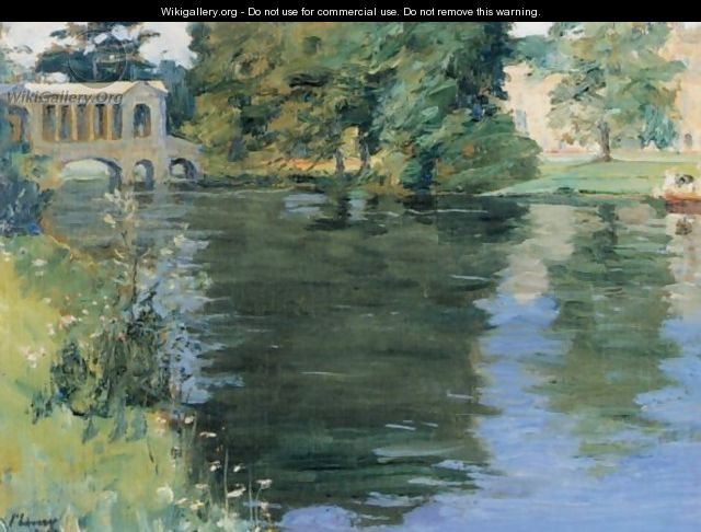 The Palladian Bridge, Wilton House - Sir John Lavery