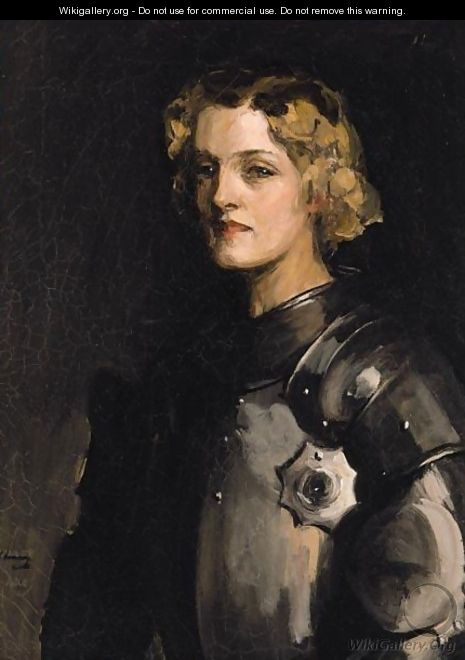 Portrait Of Pauline Chase As Joan Of Arc - Sir John Lavery