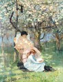 In The Apple Orchard - Sir John Lavery