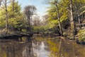 Forar Ved Soen (A Lake In Early Spring) - Peder Monsted
