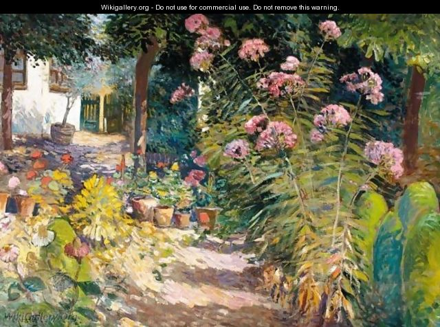The Garden Path - Ignac Ujvary