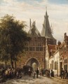 The Cellebroederspoort, Kampen - Cornelis Springer