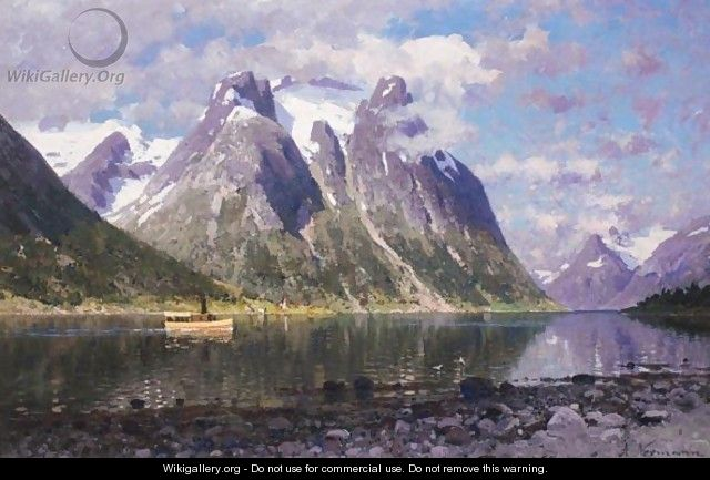 Saltenfjorden, Norge (The Saltenfjord, Norway) - Adelsteen Normann