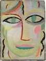 Frauenkopf (Head Of A Woman) - Alexei Jawlensky