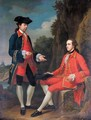 Portrait Of George Henry Grey, 5th Earl Of Stamford And Sir Henry Mainwaring, 11th Bt. - Sir Nathaniel Dance-Holland