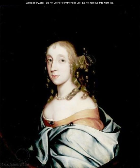 Portrait Of Lucy Ann Mariott - (after) Sir Peter Lely