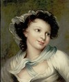 Portrait Of A Young Woman - (after) Fragonard, Jean-Honore