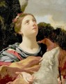 St. Agnes With The Lamb - (after) Louis Dorigny