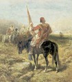 Wallachian Horsemen - Adolf Schreyer