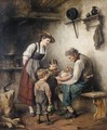 Essenszeit (Feeding Time) - Albert Muller-Lingke