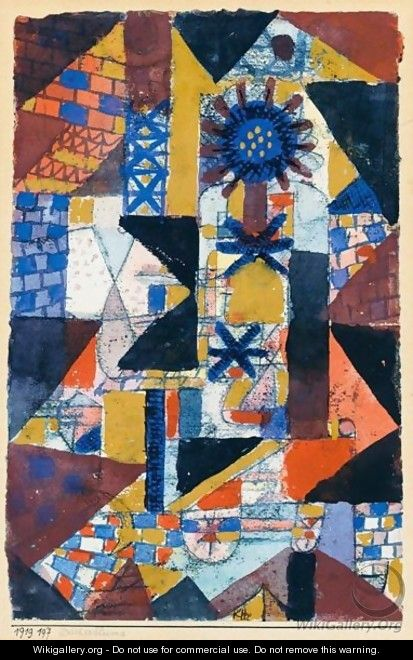 Dacherblume (Rooftop Flower) - Paul Klee