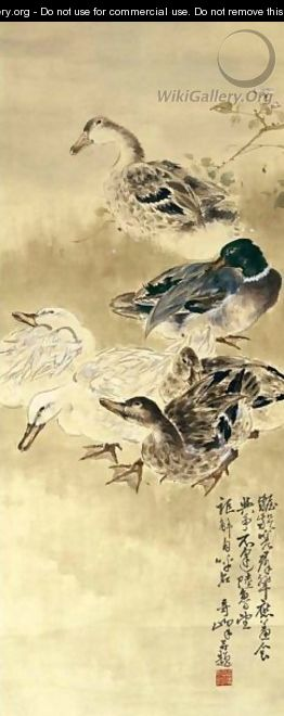 Ducks - Gao Qifeng