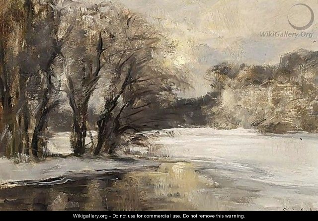 A Winter Morning - Louis Apol