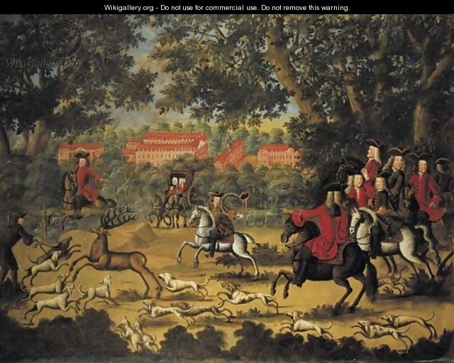The Stag Hunt - German School
